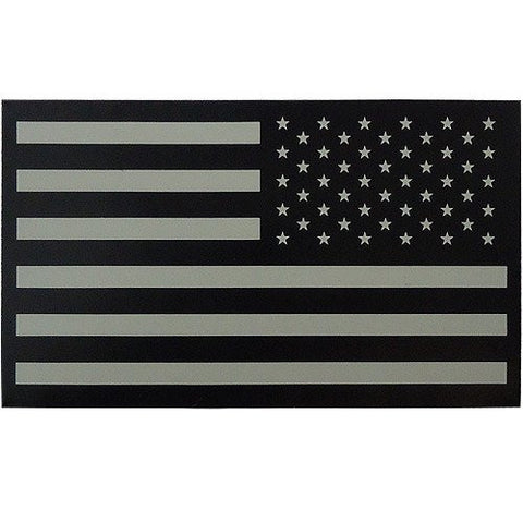 FLAG PATCH: UNITED STATES OF AMERICA - IR INFRARED HOOK CLOSURE REVERSED