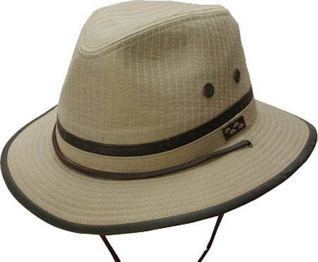 Oak Tree Island Outdoor Hat - Khaki