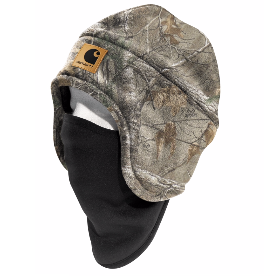 Carhartt Hats: Fleece 2-in-1 Headwear Realtree Camo