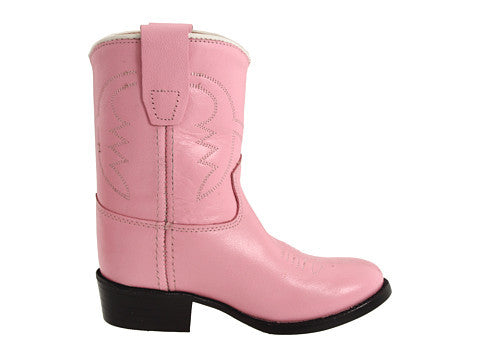 Old West Toddlers Roper Western Boots - Pink
