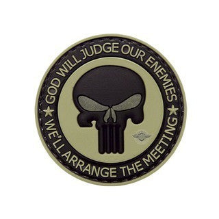 5-Star Patches: Morale Patch - Punisher Enemies
