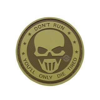 5-Star Patches: Morale Patch - Don't Run Ghost