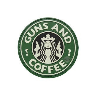 5-Star Patches: Morale Patch - Guns And Coffee