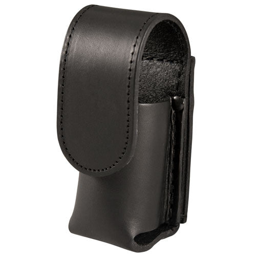 Boston Leather Chemical Spray Holder with VELCRO Closure Top Flap