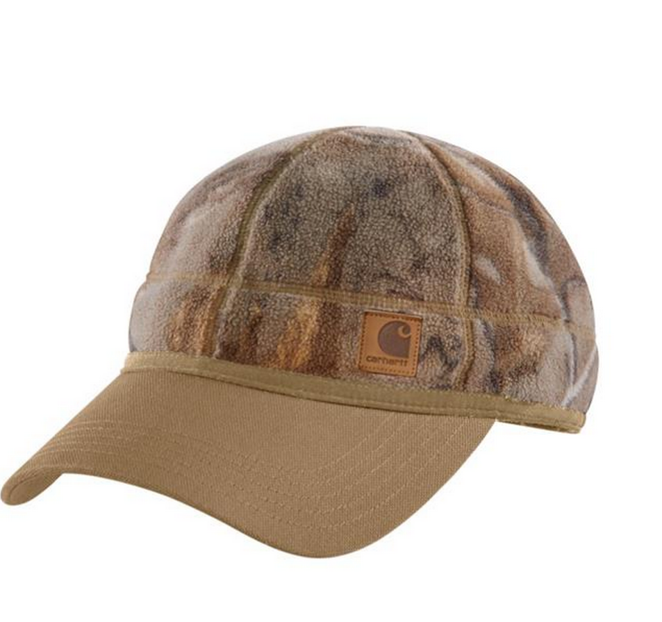 Carhartt Hats: Force Griggs Fleece Visor Cap Realtree Camo