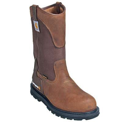 Carhartt Boots: Men's 11-Inch Bison Waterproof Wellington Boots