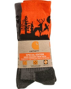 Carhartt Special Edition Deer Season Crew Sock (2 Pack)