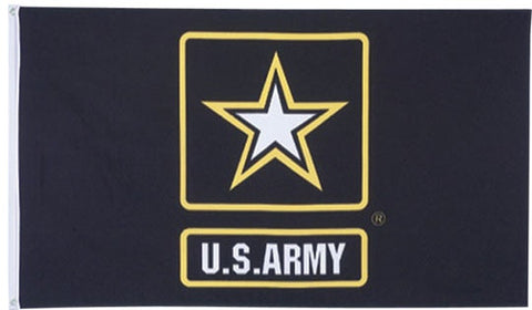 Flags: US Army Star 3′ x 5′ Flag