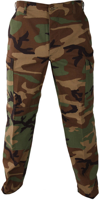 Propper BDU Trouser Kids: Button Fly Woodland Camo