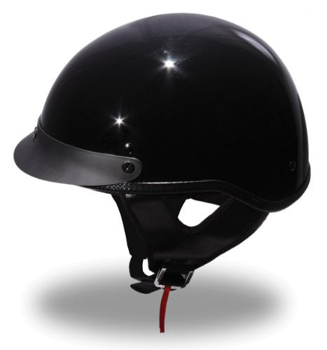 First Manufacturing DOT Compliant Unvented Half Helmet