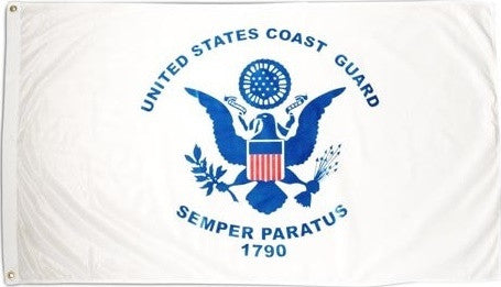 Flags: US Coast Guard 3′ x 5′ Flag
