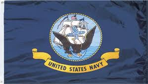 Flags: US Navy 3′ x 5′ Flag