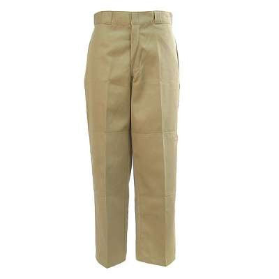 Dickies Pants: Men's Double Knee Loose Fit - Khaki
