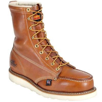 "Thorogood 8"" Boots Steel Toe EH Vibram Sole"