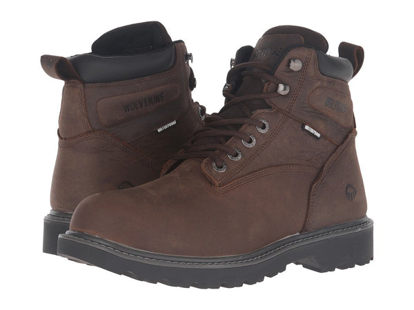 Wolverine - Floorhand Men's Work Boots, Dark Brown
