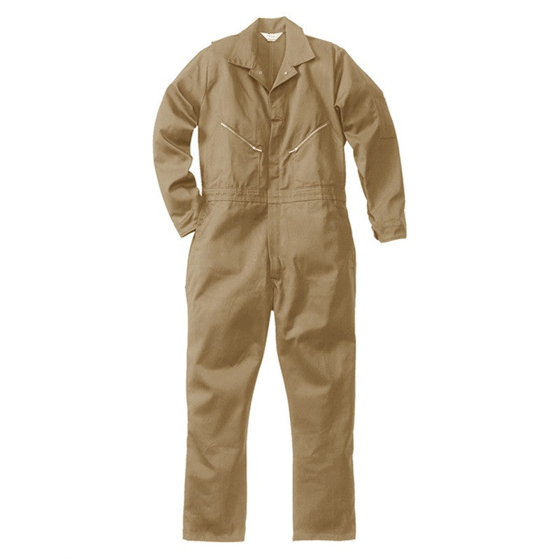 Walls Mens 100% Cotton Coveralls Non-Insulated Khaki