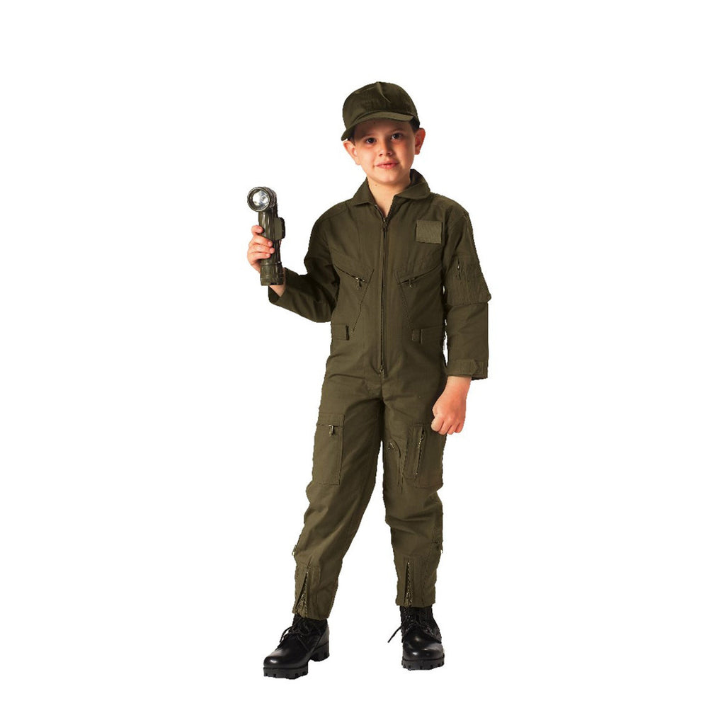 Rothco Flight Suits: Kids Flight Suits Olive Drab