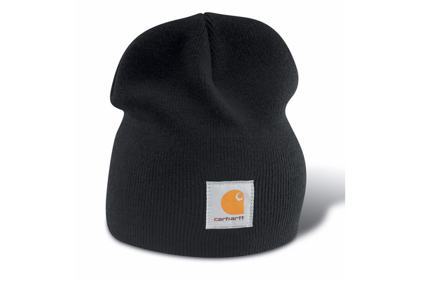 Carhartt Hats: Acrylic Knit Black