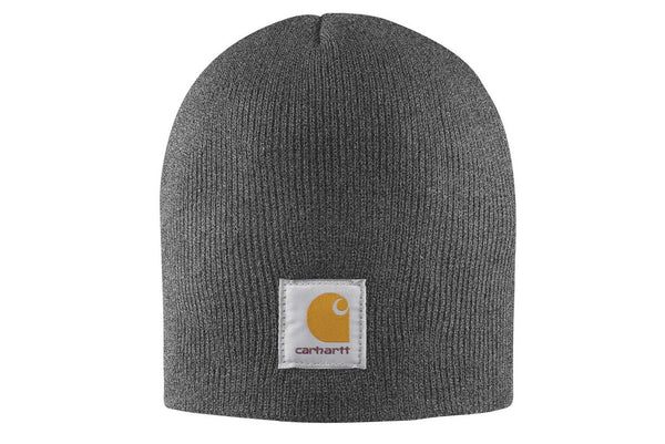Carhartt Hats: Acrylic Knit Coal Heather