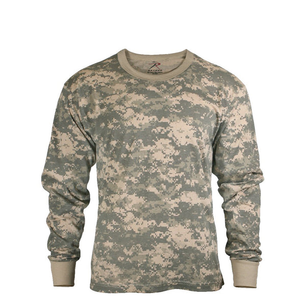 Rothco Shirts: Camo Long Sleeve T-Shirts
