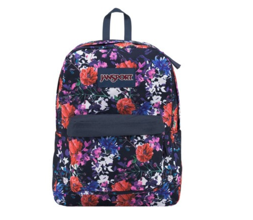 Jansport Superbreak Backpack Morning Bloom