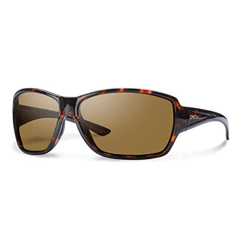 Smith Optics Women's Pace Sunglasses, Tortoise Frame, Polar Brown Carbonic Tlt Lenses