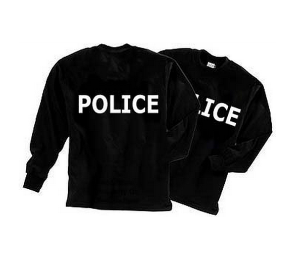 Fox Shirts: Police Long Sleeve T-Shirt