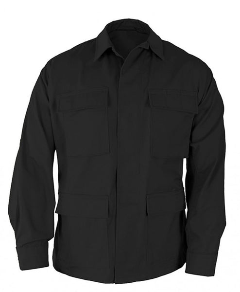 Genuine Gear: BDU Ripstop Shirt / Coat - Black
