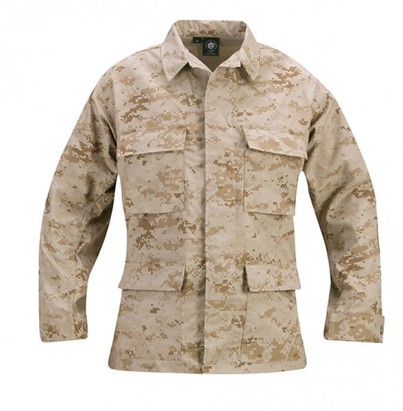 Genuine Gear: BDU Ripstop Shirt / Coat - Desert Digital
