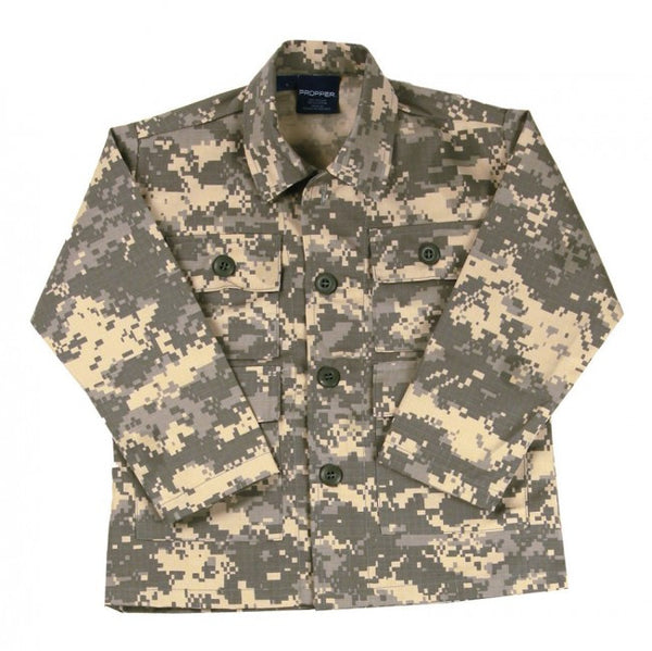 Propper Shirts: Kids Camo BDU Shirt - Coat ACU Digital