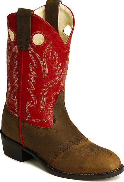 Old West Kids Buckaroo Boots