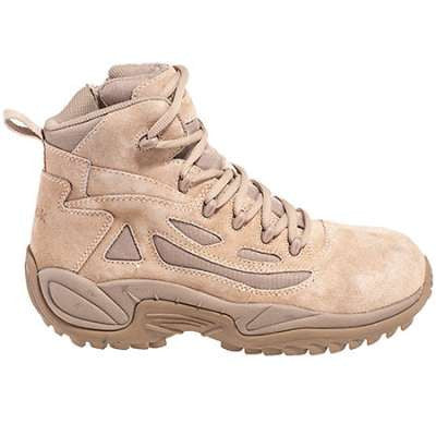a961576686a Reebok Rapid Response 6 Inch Composite Toe Side Zip EH Desert Boot ...