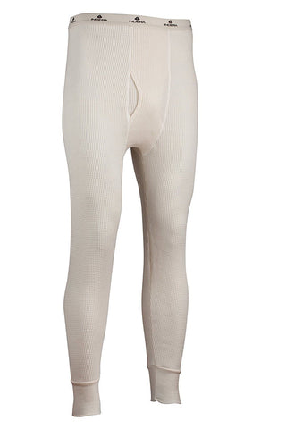 Indera Mens Maximum Weight Thermal Underwear Pant, Natural