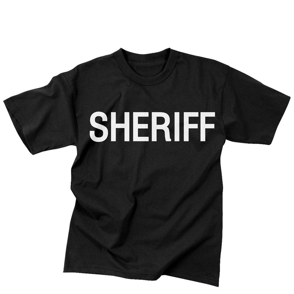 Rothco Shirts: Sheriff T-Shirt