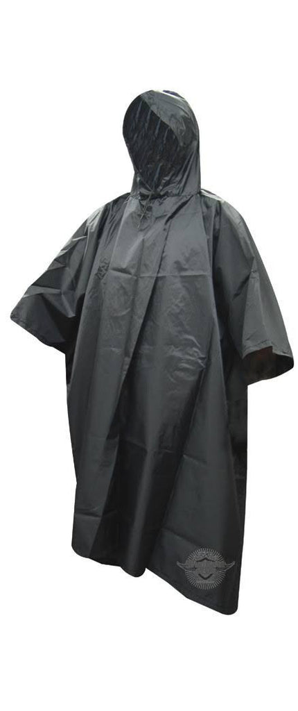 Poncho: One Size Black