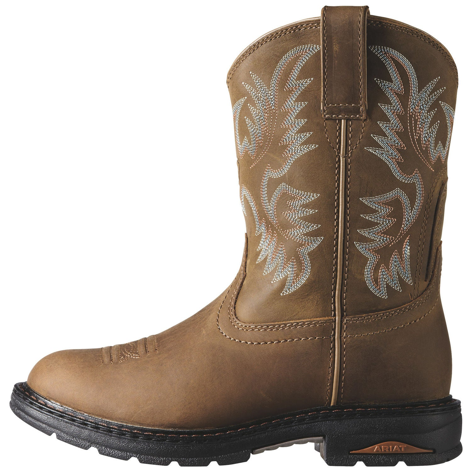 Ariat Boots: Women Tracey Pull On Composite Toe Work Boots – Army