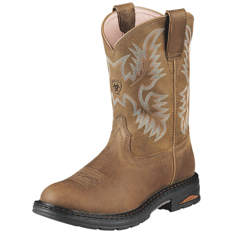 Ariat Boots: Women Tracey Pull On Composite Toe Work Boots