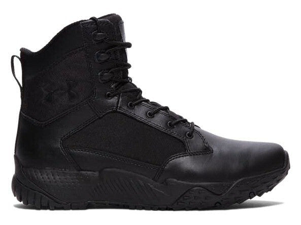 "UA Stellar Tactical 8"" Side Zip Boots, Black"