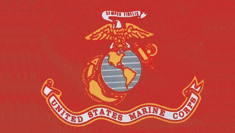 Flags: US Marines 3′ x 5′ Flag