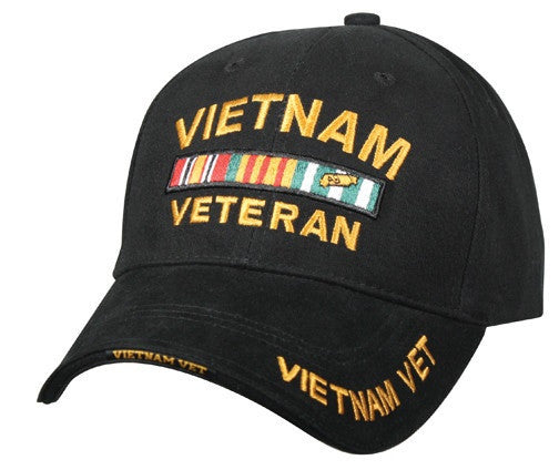 Rothco Hats: Vietnam Vet Deluxe Low Profile Insignia Cap