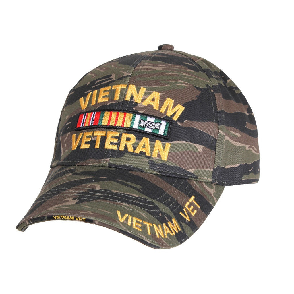 139a8d819 Rothco Hats: Vietnam Tiger Stripe Deluxe Low Profile Cap