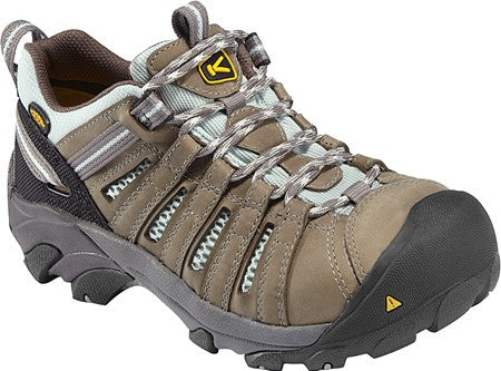 Keen Women's Flint Low Steel Toe EH Hiking Shoes