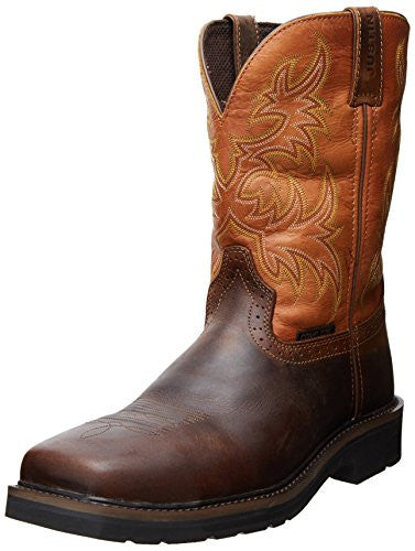 Justin Work Boot: Men's Stampede Comp Toe Work Boot