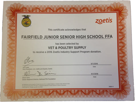 Zoetis and FFA Program