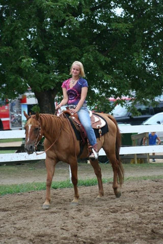 Ashley Holdeman Final Saddle Club Ride Elkhart Fair