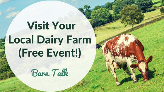 Free Local Event for Families Dairy Farm Tour