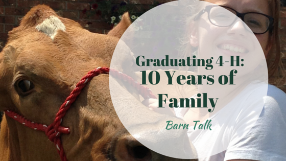 Graduating 4-H: 10 Years of Family Dairy Club