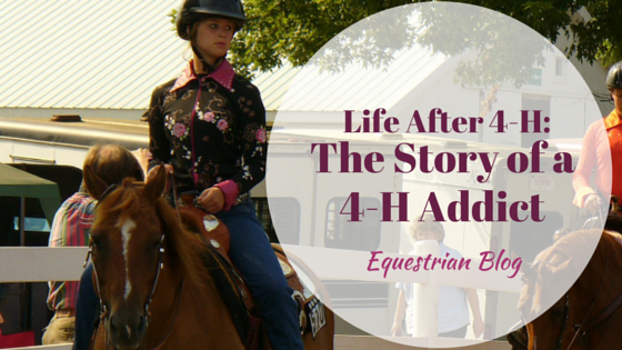Life After 4-H: The Story of a 4-H Addict Saddle Club