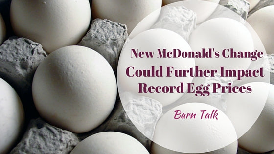 McDonald's Breakfast Change Could Impact Record Egg Prices