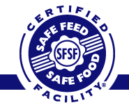 Safe Feed Safe Food Certification